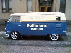 Rothman's Racing Volkswagen Bus ☮ #VWBus ☮ pinned by www.wfpcc.com
