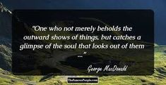 George Macdonald Quotes On Suffering