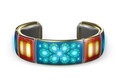 Gemio has bracelets that send messages with flashing lights.