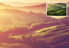 Channel the sunset in your photos by using this Photoshop Action.