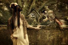 If It's Hip, It's Here: The Beautifully Ethereal, Surreal Work Of Artist Chiara Fersini aka Himitsuhana.