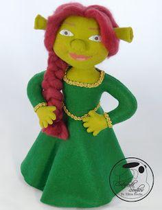 Fiona - Moldes e Passo a Passo