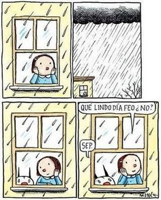 my sentiments exactly. Kitty Crowther, I Love Rain, Coffee And Books, Humor Grafico, Calvin And Hobbes, I Love Books, Vintage Children, Comic Strips, Illustrations Posters