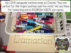 Rainbow Write Center