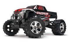 Stampede 4X4 Brushed 1/10 Scale Brushed Monster Truck RTR