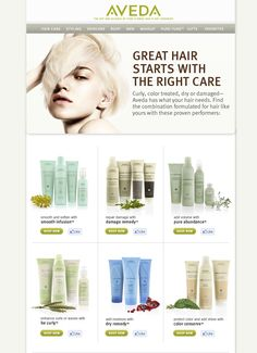 Aveda, love it.