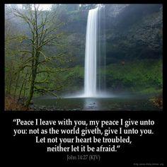 John 14:27 KJV