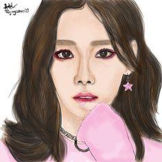 "29 Likes, 3 Comments - Jaysone (@jaysone09) on Instagram: ""#taeyeon #taeyeonfanart #taeyeon_ss #love #fanart #fanartsnsd #pink #cool #digitalart #sketch…"""