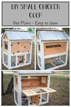 DIY Small Chicken Coop Plans