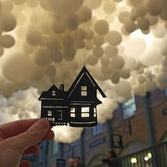 «#paperboyo #balloons #house #up»
