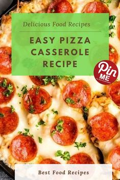 Easy Pizza Casserole Recipe This clean pizza casserole recipe is a own family-favorite meal that is kid examined and husband authorized! It's great easy, however i need to expose you exactly the way it's done to make sure your success! Best Chicken Recipes, Chicken Salad Recipes, Pizza Recipes, Pizza Casserole, Casserole Recipes, Good Food, Yummy Food, Easy Meals, Favorite Recipes