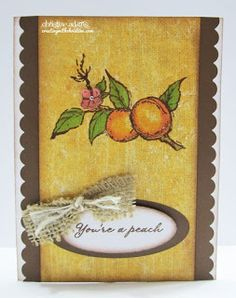 card by Christine Adams using CTMH Tommy paper