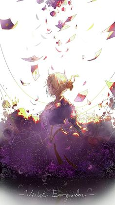 Top anime about depression and for depression. Top animes to watch when you're feeling down and need to watch something comforting. The most depressed anime characters as well as some warm & fun as well to cheer you up. Anime Violet Evergarden, Top Anime Series, Violet Evergarden Wallpaper, Film Manga, Violet Evergreen, Violet Garden, Kyoto Animation, Wallpaper Aesthetic, Estilo Anime