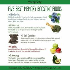 5 memory boosting foods