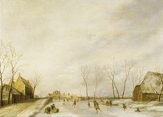 Johannes Janson - - - Winter Landscape