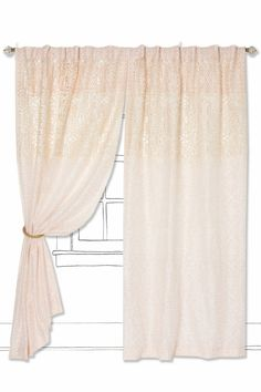 Lacy Veranda Curtain