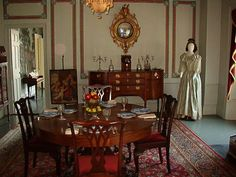 Dining Room of King Caesar House