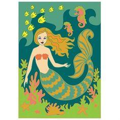 mermaidhomedecor - Mermaid Garden Flag $19.88