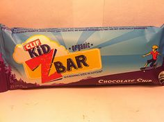 Crazy Food Dude Review: CLIF Kid Z Bar Chocolate Chip Bar