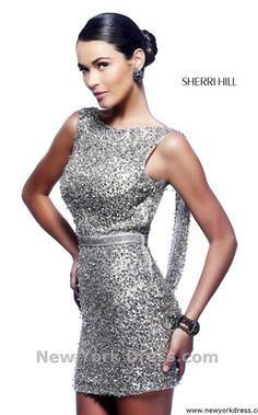 NewYorkDress Blog // 50 Shades of Glitter // // Click through for more! // Dress: Sherri Hill 4800