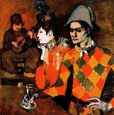 En el Lapin Agile (Pablo Picasso)