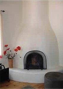 Kiva fireplace - Taos, New Mexico