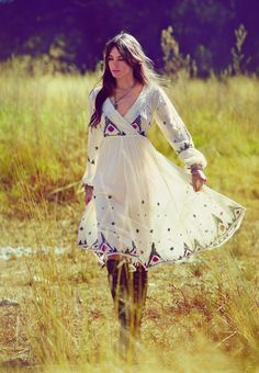 Hippie dress by Free People