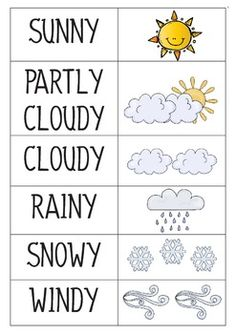 Weather Classroom Calendar Pre-K and Kindergarten - Kindergarden Kindergarten Science, Preschool Worksheets, Preschool Learning, Kindergarten Classroom, Preschool Activities, Kindergarten Calendar, Weather Calendar, Calendar Time, Kids Calendar