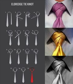 How to tie an amazing tie.