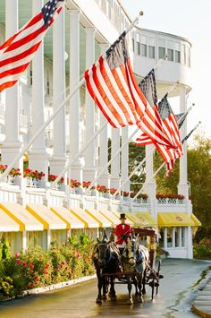 Preserved history creates a soul-reviving escape on Mackinac Island, the Les Cheneaux Islands and the mainland's Mackinaw City.