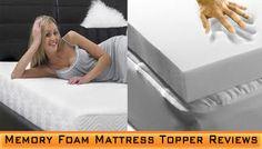 Memory-Foam-Mattress-Topper-Reviews