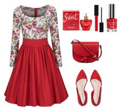 """Untitled #266"" by dina-1990 ❤ liked on Polyvore featuring WithChic, KC Jagger, Lolita Lempicka, Gucci and Topshop"