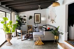 living room —Chris and Amber's Old + New Renovated Home | Apartment Therapy