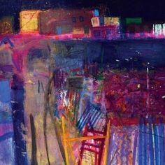 Barbara Rae RA - Photography, Landscape photography, Photography tips Abstract Landscape Painting, Landscape Art, Landscape Paintings, Abstract Art, Landscapes, Abstract Paintings, Watercolor Landscape, Nocturne, Barbara Rae