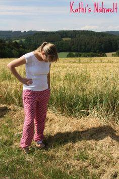 lillesol & pelle Schnittmuster/ pattern Sommerhose / Summer pants