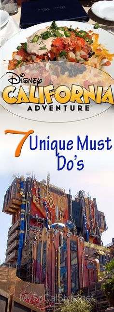 Headed to Disney's California Adventures? Check out these 7 unique attractions you won't find anywhere else! | #Disney #Disneyland #CaliforniaAdventure #ParkTips