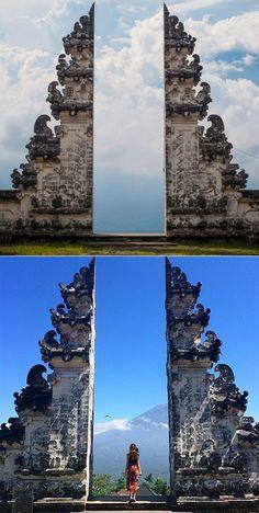 Indonesia's Pura Lempuyang Door.
