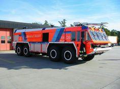 German fire truck