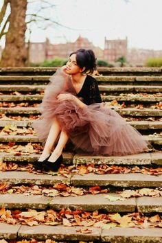 tulle... LOVE the colour