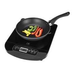 Black Induction Cooking Plate - Food Preparation