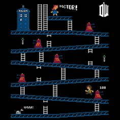 Doctor Who meets Donkey Kong