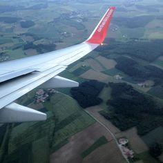 Anflug München, große Runde