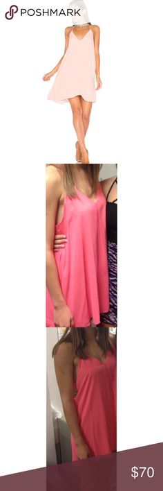 Hot pink strappy Alice + Olivia dress! Rarely worn hot pink strappy Alice and Olivia dress!! Alice + Olivia Dresses Mini