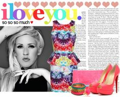 """""""#392 (Ellie Goulding)"""" by lauren1993 ❤ liked on Polyvore"""