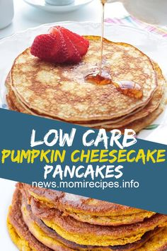 My Mom's Recipes: Low Carb Pumpkin Cheesecake Pancakes Quick Dessert Recipes, Easy To Make Desserts, Easy Baking Recipes, Easy Delicious Recipes, Unique Recipes, Popular Recipes, Fun Desserts, Delicious Desserts, Popular Food