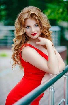 Redhead in strawberry dress porn