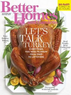 FREE One Year Subscription to Better Homes and Gardens Magazine! No Strings Attached! http://www.thecafecoupon.com/2016/10/free-one-year-subscription-to-better.html