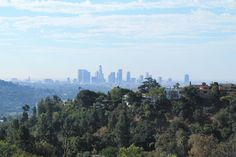Downtown LA/California/Hiking View/Landscape