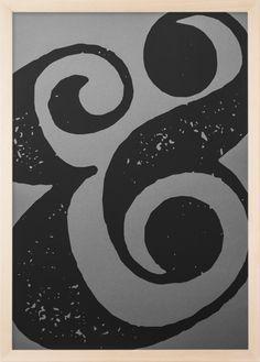 Ampersand 1 - Screen Print 50x70cm