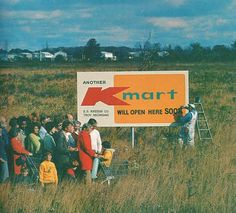 1975 ... Back when they were just starting to build new K-Marts ... We couldn't wait for ours!